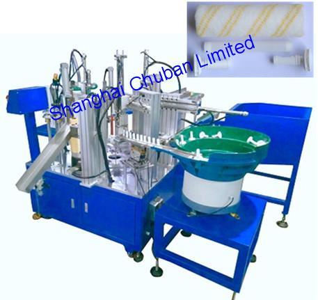 Paint Roller Cover Caps Inner Tube Assembly Machine